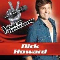 Nick Howard Voice of Germany Flyer