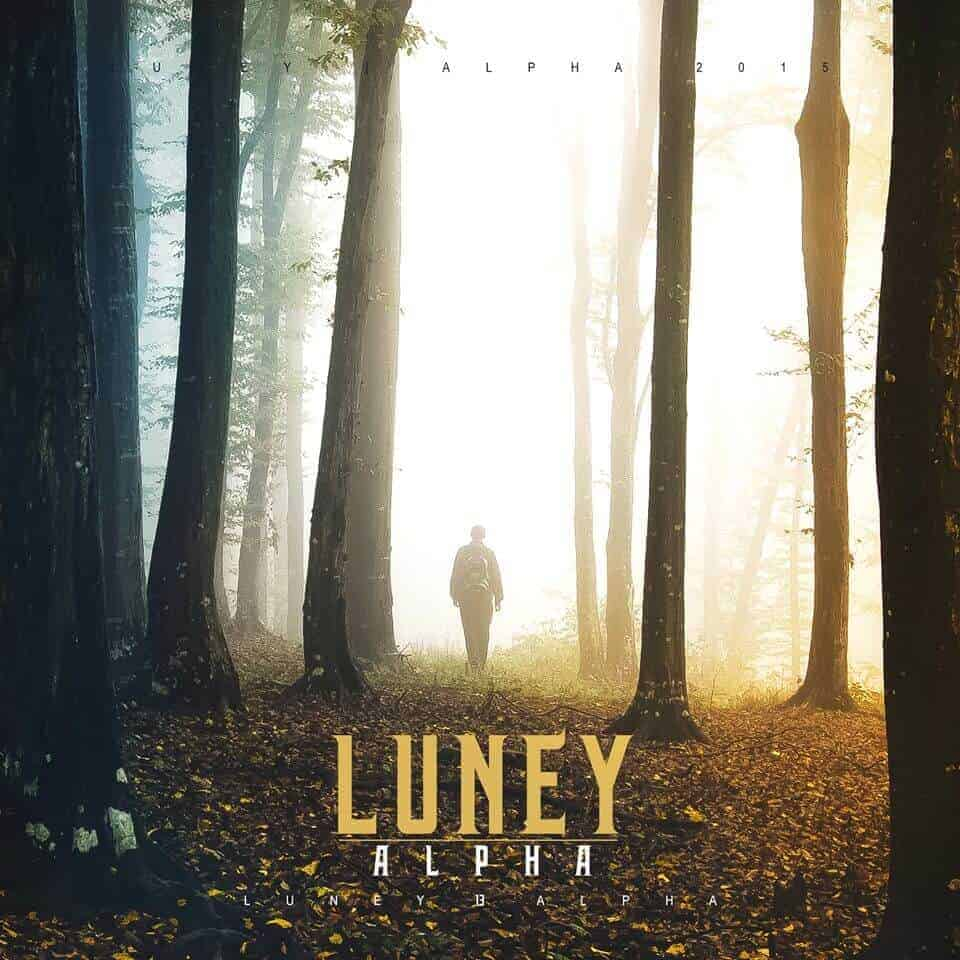 Luney - ALPHA CD Cover