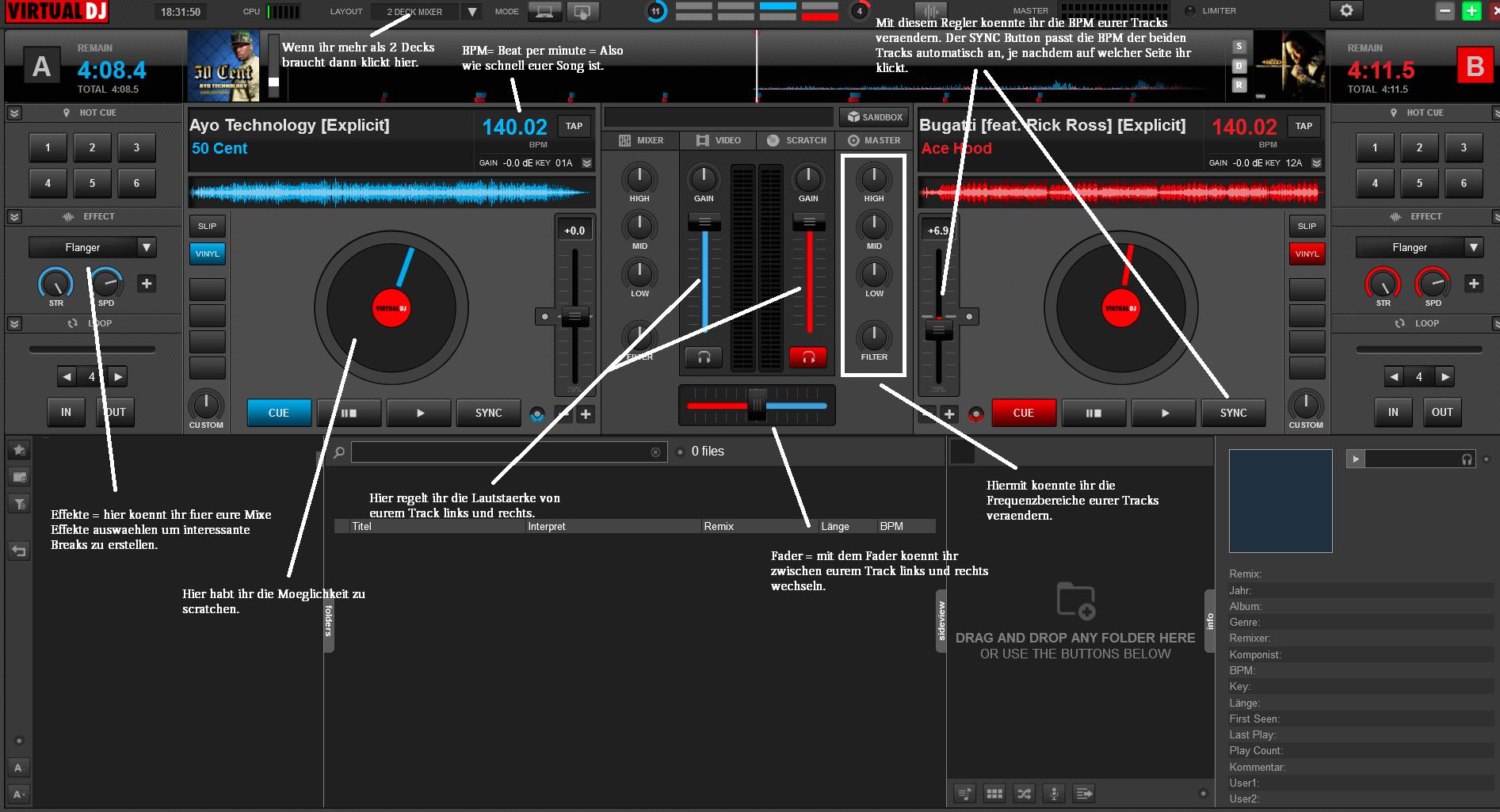 VIRTUAL DJ2