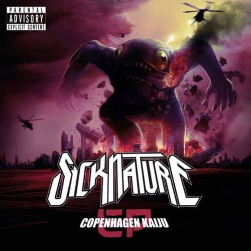 Sicknature Copenhagen Kaiju CD Cover