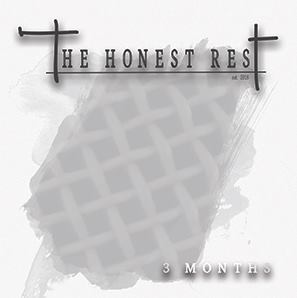 The Honest Rest - 3 Months Albumcover