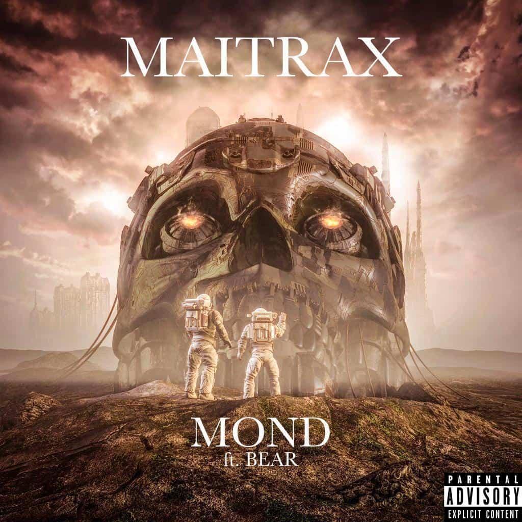 Maitrax ft. Bear - Moon Coverart Mixing und Mastering by Peak-Studios
