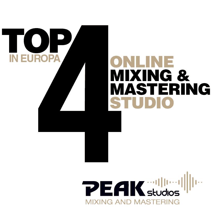 Peak-Studios Online Mastering und Mixing Banner