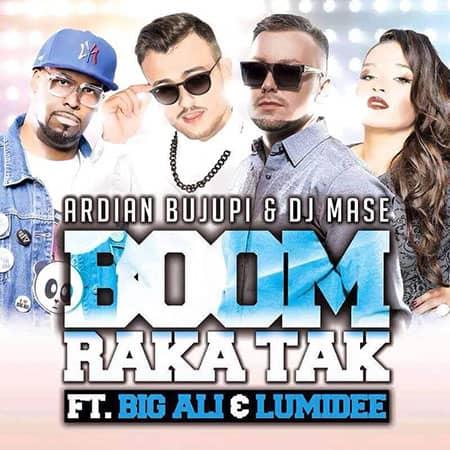 Ardian Bujupi - Boom Rakatak ft. Big Ali, Dj Mase & Lumidee Remixes mastered at Peak-Studios